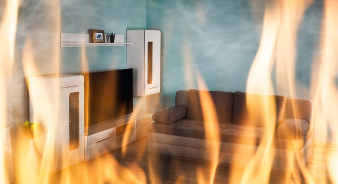 Stricter regulations on fire safety can affect escape from fire scenarios