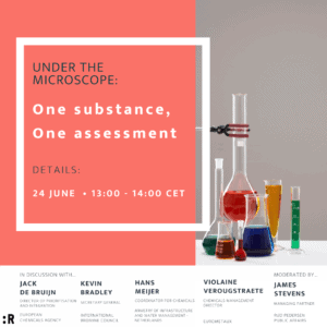 One substance, One assessment flyer
